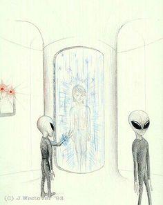 Aliens And Ufos, Ancient Aliens, Cosmos, Ancient Astronaut Theory, Unexplained Mysteries, Alien Concept Art, Alien Planet, Alien Abduction, Alien Art