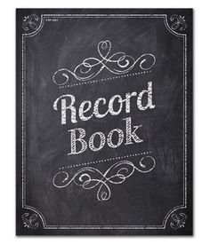Chalk+It+Up!+Record+Book #CreativeTeachingPress #ClassroomIdeas #ClassroomWishlist