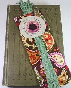 Created a new series of fiber art bookmarks