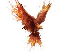 The Phoenix Card by Sendolarts on DeviantArt Phoenix Artwork, Phoenix Drawing, Phoenix Images, Dragon Artwork, Tattoo Ave Fenix, Fenix Tattoos, Phoenix Bird Tattoos, Phoenix Tattoo Design, Fantasy Creatures