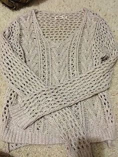 Tan Hollister womans size small sweater. https://t.co/6uhEGiChpV https://t.co/bLsgHFLE99