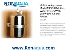 Healthy Water, To Obtain, Steel House, Water Systems, Drinking Water, Small Businesses, Faucet, Filters, Aqua