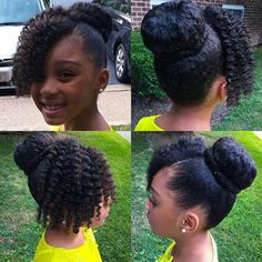 Twist hair and then add hair to twists to pull back and pin for thicker bangs
