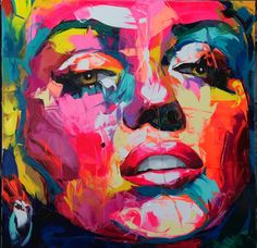 Françoise Nielly. She uses pink like no one else can.