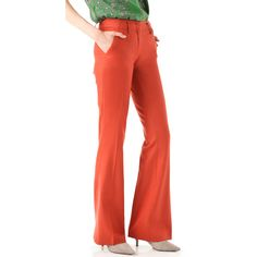 Derek Lam Tuxedo Trousers ($195) ❤ liked on Polyvore