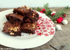My Culinary Curriculum: Brownie chocolat au lait, Chicorée Leroux et pépit...