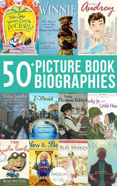Books are a great way to bring history alive! Here are of the best children's historical picture book biographies and autobiographies/memoirs for kids. Give some of these titles a try and enhance your history lessons. Biography Project, Biography Books, Good Books, Books To Read, Best Biographies, Kids Reading, Reading Lists, Book Suggestions, History Books