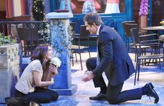Week of 6/26/17: Rafe proposes to Hope (Kristian Alfonso and Galen Gering). #Daysofourlives #DOOL #Rope