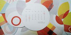 Optimus Calendar | Work + Play by Marian Williams, via Behance