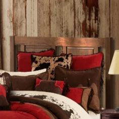 (1) Cowgirl Kim Red Rodeo Comforter Set Bed Comforter Sets, Comforters, Western Bathroom Decor, Shutter Decor, Rodeo, Throw Pillows, Furniture, Home Decor, Bed Cover Sets