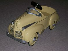 1941 Steelcraft Chrysler Pedal Car Restored Vintage Pressed Steel Toy