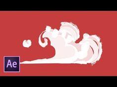 Рисованная покадровая анимация в стиле Flash FX в After Effects и Photoshop - YouTube
