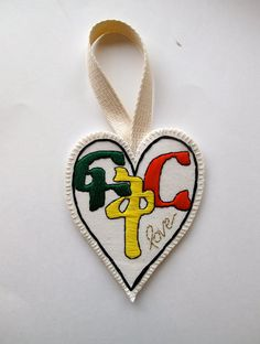 "Ethiopian heart ornament Amharic word for love, ""Fikir"" for Valentine's Day wall hanging home decor"