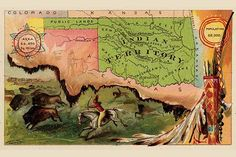 Pictorial State Map. High quality vintage art reproduction by Buyenlarge. One of many rare and wonderful images brought forward in time. I hope they bring you pleasure each and every time you look at