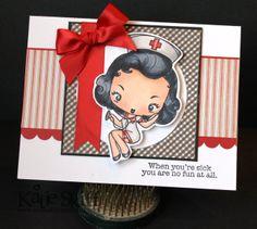 nurse valentine ideas | Loves Rubberstamps Blog