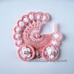 Baby Stroller Crochet Pattern