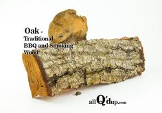 Oak is a hardwood, and is the second most popular type of wood for smoking. Oak has a medium to heavy smoke flavor. Since the smoke isn't overpowering, and depending on the type of oak, it&nb… Smoking Wood, Smoking Meat, Bbq Wood, Smoke Grill, Stoves, Outdoor Cooking, Grills, Barbecue, Yard