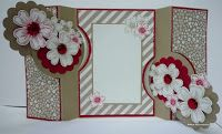 BaRb'n'ShEll Creations-Double flip card-Stampin'up-BaRb
