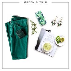 Chill out in your favourite jeans, your favourite mag & your statement earrings. Just chill.