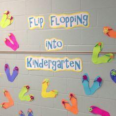 Beach theme classroom... Such a cute idea!!!