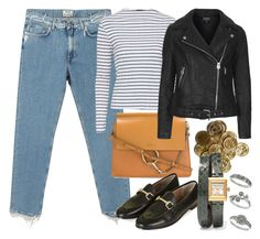 """""""Untitled #5409"""" by rachellouisewilliamson on Polyvore featuring Acne Studios, Topshop, Chloé, Gucci and Miss Selfridge"""