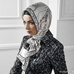 """Find and save images from the """"Hijab Fashion Office Look"""" collection by Zagzouma (zagzouma) on We Heart It, your everyday app to get lost in what you love. Hijab Turkish, Conservative Fashion, Modern Hijab Fashion, Head Scarf Styles, How To Wear Scarves, Muslim Women, Head Wraps, Fashion Outfits, Islamic"""