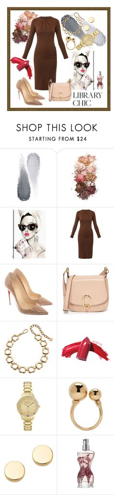 """Library Chic"" by husic-m ❤ liked on Polyvore featuring Clé de Peau Beauté, Sigma, iCanvas, Joseph, Christian Louboutin, MICHAEL Michael Kors, Orla Kiely, Versus, Chloé and Astley Clarke"