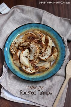 roasted turnips with caraway seeds