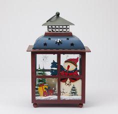 Lanterna de Natal Azul 31 cm   A Loja do Gato Preto   #alojadogatopreto   #shoponline   referência 44265961