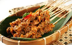 Resep Aunu Kerang Sate Padang, Baby Food Recipes, Great Recipes, Indonesian Cuisine, Tasty, Yummy Food, Grilled Meat, Fish And Seafood, Street Food
