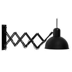 KINKIET ABERDEEN BLACK - Nowoczesne meble design, włoskie meble do salonu i sypialni, wyposażenie wnętrz