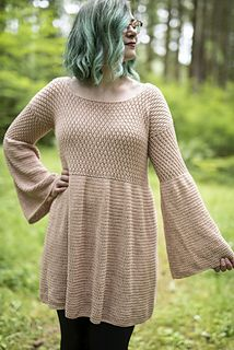 Make And Do Crew, Heavy Dresses, Front Post Double Crochet, Thick Yarn, Sport Weight Yarn, Lion Brand Yarn, Crochet Hooks, Crochet Tunic, Crochet Sweaters