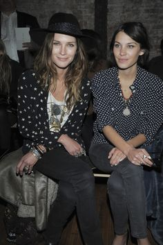 Erin Wasson & Alexa Chung. Explosion of coolness