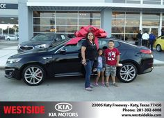 https://flic.kr/p/Nch293   Happy Anniversary to Brenda on your #Kia #Optima from Wilfredo Suliveras at Westside Kia!   deliverymaxx.com/DealerReviews.aspx?DealerCode=WSJL