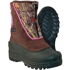 58e87a0dbd27 Itasca Girls  Youth Waterproof Stomper Winter Snow Boot