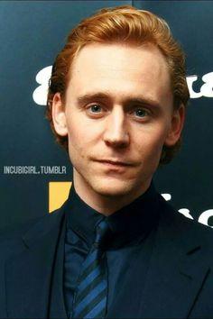 Gorgeous ginger Tom Hiddleston ♥♥