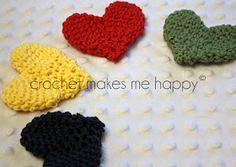 Crochet Makes Me Happy!: Free Crochet Pattern: The Heart