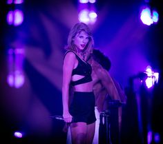 Taylor Swift Photos Photos - Singer-songwriter Taylor Swift performs onstage during Taylor Swift The 1989 World Tour Live In Los Angeles at Staples Center on August 22, 2015 in Los Angeles, California. - Taylor Swift The 1989 World Tour Live In Los Angeles - Night 2