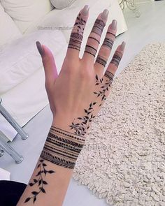 51 Super Ideas For Tattoo Finger Simple Mehndi Designs