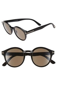 Tom Ford 'Barberini Lucho' 49mm Retro Sunglasses