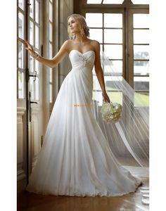 Jaro 2014 Elegantní & moderní Šněrování Designer Svatební šaty