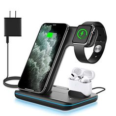 #WAITIEE Qi #WirelessCharger for #AppleWatch, #AirPods and #iPhone