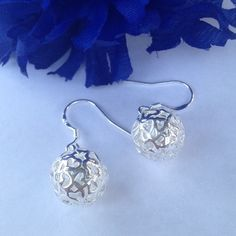 925 Silver Ball Earrings Silver hollow ball. 925 stamped Sterling silver. New! Jewelry Earrings