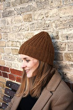 The Hipster Hat by PetiteKnit Hipster Hat, Black Hipster, Hipster Tops, Ravelry, Hipster Pattern, Beanie, Hand Dyed Yarn, Swatch, Knitwear