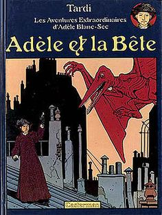 The Extraordinary Adventures of Adèle Blanc-Sec (French: Les Aventures extraordinaires d'Adèle Blanc-Sec) is a historical fantasy comic book series first appearing in 1976 written and illustrated by French comics artist Jacques Tardi.   It's set primarily in Paris and prominently incorporating real-life locations and events.