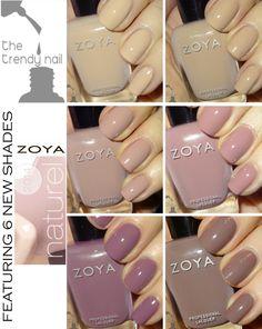 Zoya naturel 2014 collection