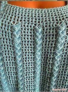 Olá! Para confeccionar esta blusa você pode usar a linha Camila Fashion ou fazer ela de lã. Vai ficar um charme! Espero que gostem...