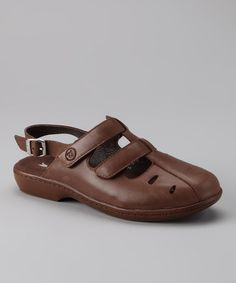 Take a look at this Brown Grenada Sandal by Propét on #zulily today!