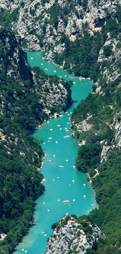 Grand Canyon du Verdon, France  Been there and it is breathtaking when you see that colour for real..     hire a car and explore it for yourself.. www.car-booker.com #carbookercom