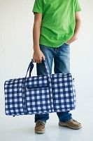Owen Checkered Duffle Bag Monogrammed | The Preppy Pair